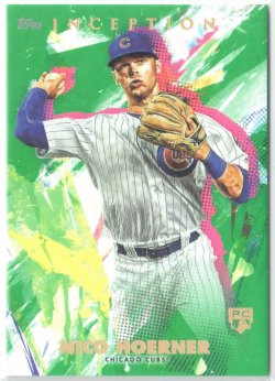 2020 Topps Inception Green Nico Hoerner