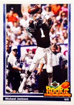 1991 Upper Deck Rookie Force Michael Jackson