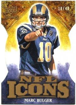 2009 NFL Icons Bulger /40