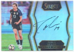 2017-18 Panini Select Signatures Tobin Heath