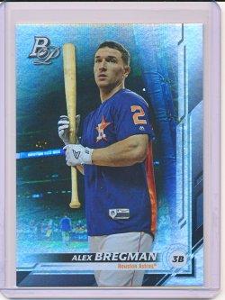 Alex Bregman 2019 Bowman Platinum SP