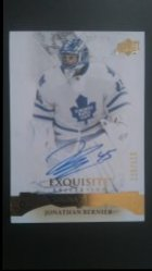 2015-16 Upper Deck Ice Exquisite Signatures #ES-JB Jonathan Bernier