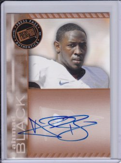 Ahmad Black 2011 Press Pass Autographs Bronze