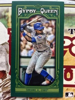 Topps Gypsy Queen Alfonso Soriano