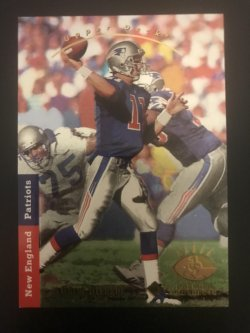 1993 Upper Deck SP DREW BLEDSOE