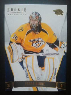 2011-12 Panini Rookie Anthology #72 Pekka Rinne