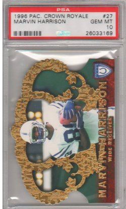 1996  Crown Royale Marvin Harrison