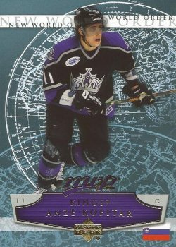 2007 Upper Deck MVP Anze Kopitar