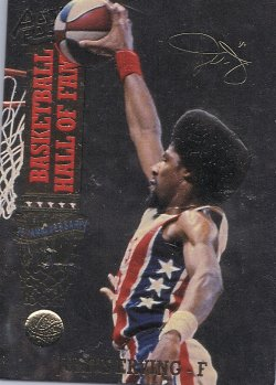 1993  action packed #69 julius erving