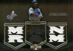 2010 Topps Triple Threads Relics Sepia Manny Ramirez