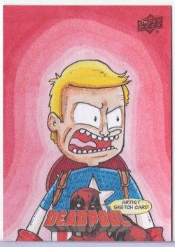 Marvel: Deadpool JOHNNY TOWNSEND (CAPTAIN AMERICA)