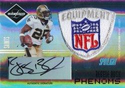 2006 Leaf Limited College Phenoms Autographs Platinum Spotlight #252 Reggie Bush JSY 1/1 (DONT HAVE)
