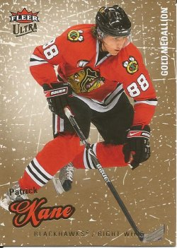 2008  Fleer Ultra Gold Medallion Patrick Kane