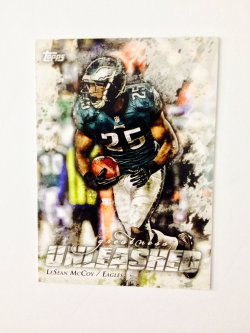 2014 Topps Greatness Unleashed  LeSean McCoy #GU-LM