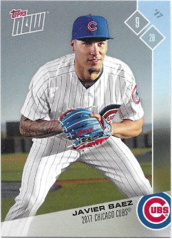 2017 Cubs Topps Now Road To Opening Day Baez