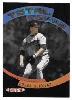 2005 Topps Topps Total Total Topps Roger Clemens