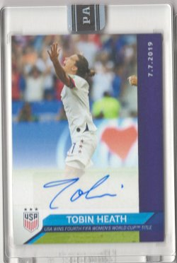 2019 Panini Instant Tobin Heath 2019 Womens World Cup Champions Autograph