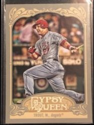 2012 Topps Topps Gypsy Queen #195 Mike Trout