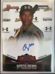 2017 Bowman Under Armour All-American Quentin Holmes