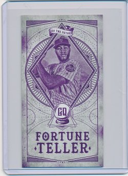 Amed Rosario 2018 Topps Gypsy Queen Fortune Teller Mini