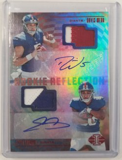 Webb/Engram 2017 Illusions Dual Patch Auto Red
