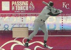 2005 Donruss Elite Passing the Torch Bats Brett/Blalock