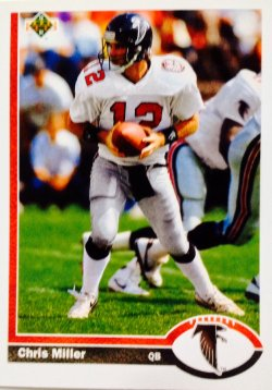1991 Upper Deck  Chris Miller #193