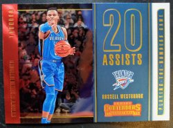 2018-19 Panini Contenders Playing the Numbers Game Russell Westbrook