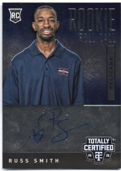 2014-15 Panini Totally Certified Smith, Russ - Rookie Roll Call Autographs