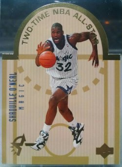 1993-94 Upper Deck SE Shaquille Oneal all star east die cut