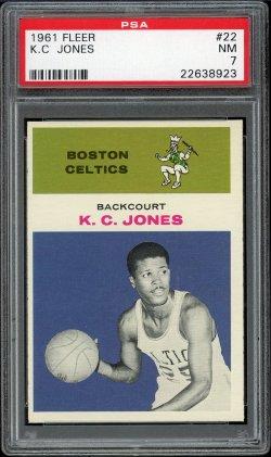 1961 Fleer  K.C. Jones