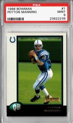1998 Topps Bowman Peyton Manning