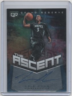 2016 Panini Grand Reserve Kris Dunn the ascent