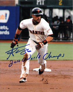 Andres Torres 8x10 Photo IP Autograph