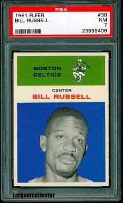 1961 Fleer  Bill Russell