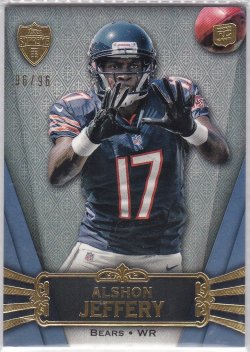 2012 Topps Supreme Alshon Jeffery