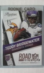 2014 Panini Prestige Road To The NFL Teddy Bridgewater