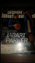 2014  Sports Illustrated Magazine  Mike Krzyzewzki / Jabari Parker IP Autograph