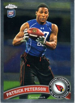 2011 Peterson Topps Chrome