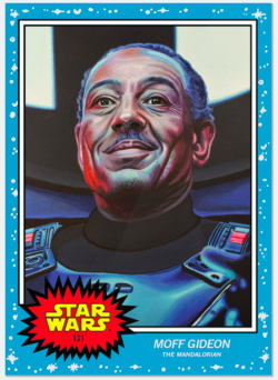 Topps Star Wars Living Set MOFF GIDEON