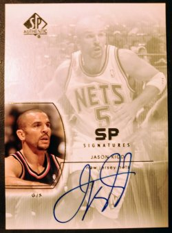 2003-04 Upper Deck SP Authentic SP Signatures Jason Kidd