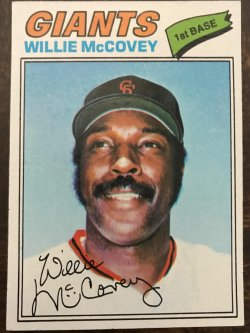 1977 Topps  Willie McCovey