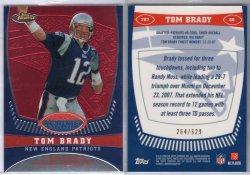 2008 Topps Finest Tom Brady