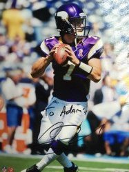 Christian Ponder Personalized 8x10