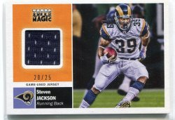2009 Topps Magic Steven Jackson Jersey