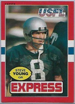1985  Usfl Steve Young