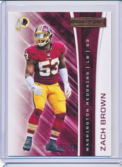 Zach Brown 2017 Rookies and Stars Gold /10