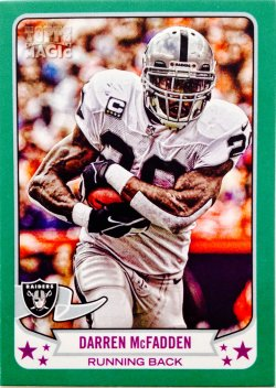 2013 Topps Magic Mini Green Parallel Darren McFadden