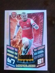 2012 Topps Match Attax Limited Edition #1 Jack Wilshire
