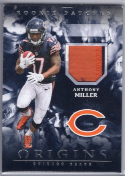 2018 Panini Origins Anthony Miller Rookie Patches